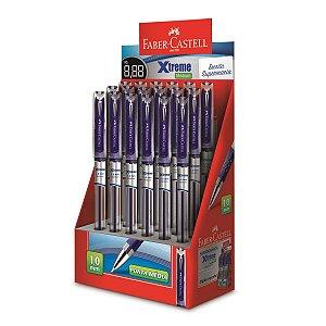 Caneta Esferográfica Xtreme 1,0mm Azul Faber-Castell
