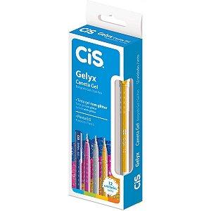 Caneta Gel Cis Gelyx 1.0mm Ouro Sertic