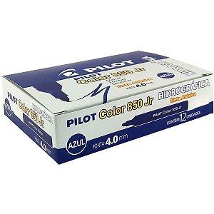 Caneta Hidrográfica Color 850l Junior Azul Pilot