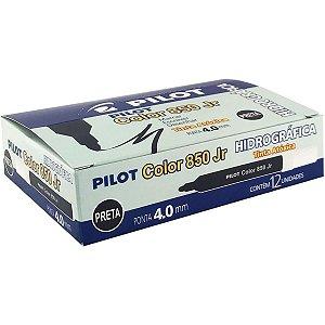 Caneta Hidrográfica Color 850l Junior Preto Pilot