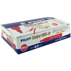 Caneta Hidrográfica Color 850l Junior Vermelho Pilot