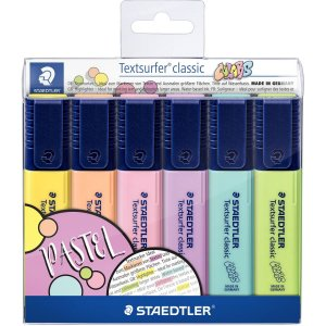 Caneta Marca Texto Textsurfer Classic Bl 6cores Staedtler