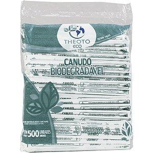 Canudo Biodegradável Embalados Individualmente Theoto