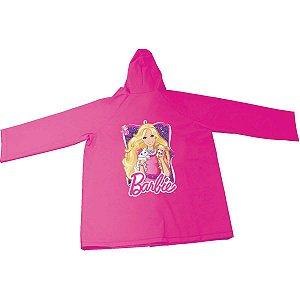 Capa De Chuva Infantil Barbie M Rosa Yangzi