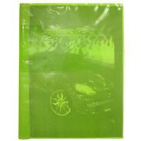 Capa Para Caderno Plástica Brochurao Verde Plasitiban