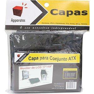 Capa Para Monitor Lcd Kit 17 Polegadas  Mon/Gab/Tec Apparatos