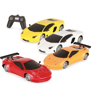 Carrinho Controle Remoto Luxury Sport Car 7 Func. 1:18 Homeplay