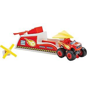 Carrinho Blaze Turbo Lancadores Mattel