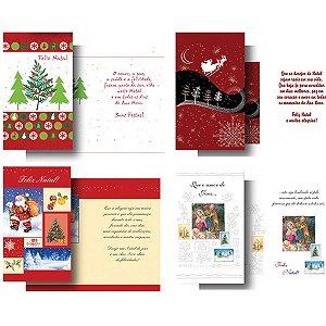 Cartão De Natal Kit-234 28mod.P407-P434 C/Env. Cristina