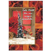 Cartão De Natal Kit-252 54mod.2501/2554 C/Env. Cristina