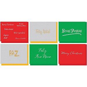 Cartão De Natal Kit-293 18mod.1501/1518 C/Env Cristina