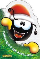 Cartão De Natal Smilinguido 13x19 Mod. Sortido Luz E Vida