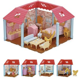 Casinha De Boneca Casa Encantada Surprise Sortid Homeplay