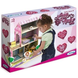 Casinha De Boneca Little House Verao 50pcs Mad. Xalingo