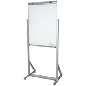 Cavalete Para Flip-Chart Aluminio Luxo Fixo 100x070cm Board Net