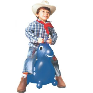 Cavalinho Infantil Upa Upa Do Gugu Azul Lider