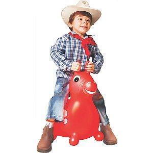 Cavalinho Infantil Upa Upa Do Gugu Vermelho Lider