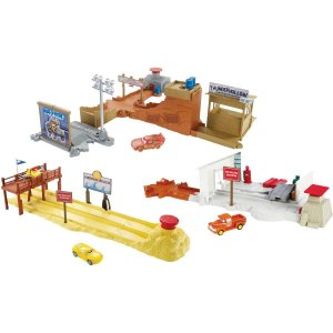 Cenário Temático (Playset) Cars Historias Conjunto Sort. Mattel