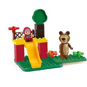 Cenário Temático (Playset) Masha E O Urso Parque Jardim Monte Libano