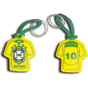 Chaveiro Do Brasil Camisa Emborrac. Curto Sortido Enjeplastic