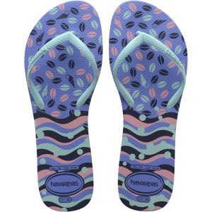 Chinelo Havaianas Feminino Flat Mix 37/8 Azul Provence Havaianas