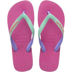 Chinelo Havaianas Top Top Mix 35/6 Rosa Hollywood Havaianas