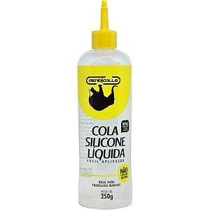 Cola Para Artesanato Silicone Liquido 250grs. Rendicolla