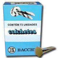 Colchete Latonados N.07 Cx.C/ 72unid. Bacchi