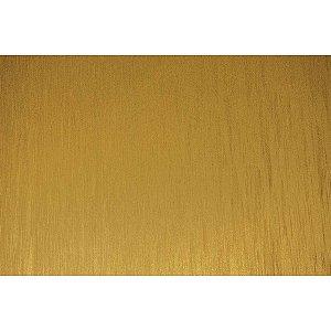 Contact Decorado 45cmx10m Aço Escovado Ouro Plastcover