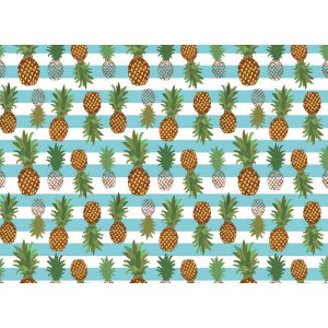 Contact Decorado 45cmx10m Ananas Plastcover