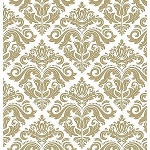Contact Decorado 45cmx10m Arabesco Bronze Plastcover