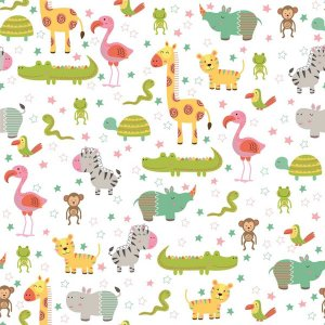 Contact Decorado 45cmx10m Baby Zoo Plastcover