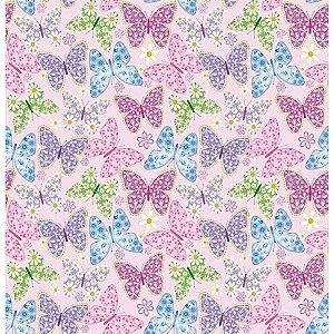 Contact Decorado 45cmx10m Butterflies Plastcover