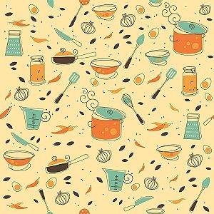 Contact Decorado 45cmx10m Cozinha Gourmet Plastcover