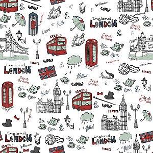 Contact Decorado 45cmx10m Happy London Plastcover