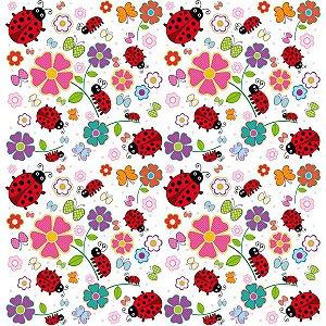 Contact Decorado 45cmx10m Joaninha Plastcover