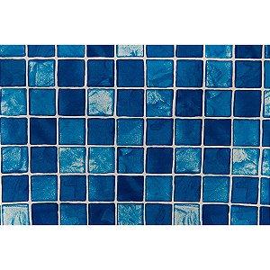 Contact Decorado 45cmx10m Pastilha Azul Piscina Plastcover