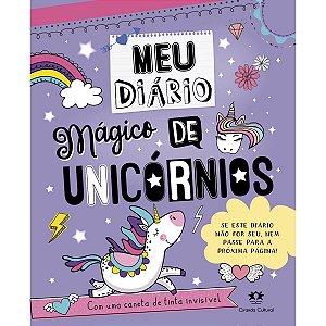 Diário Magico C/Caneta Especial 96pg. Ciranda