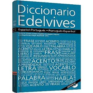 Dicionário Espanhol Esp-Por/Por-Esp Edelvives C/Cd F.T.D.