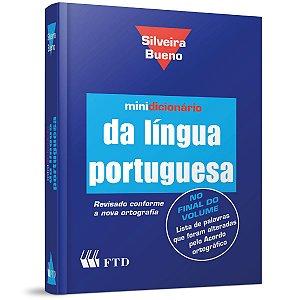 Dicionário Português Silveira Bueno Pvc C/ Indice F.T.D.
