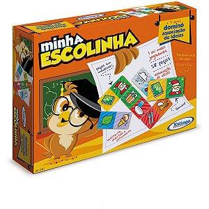 Domino Minha Escolinha Ideias 28pcs Xalingo