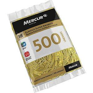 Elástico Amarelo N.18 Super 500pcs Mercur