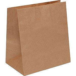 Embalagem Para Alimentos Saco Kraft Delivery M28x24x12 Cromus