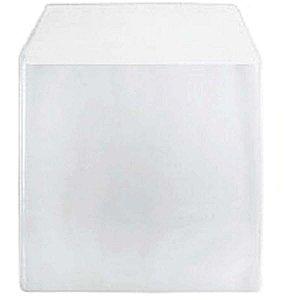 Envelope Cd E Dvd Plastico Transparente Sarjado Romitec