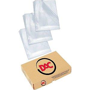 Envelope Plástico Oficio 4furo Extra Grosso 0,20 Dac