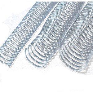 Espiral Para Caderno 09mm Transp. C/100un. P/50fls. Mares