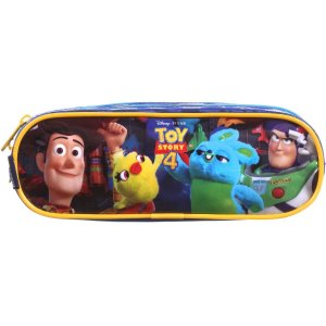 Estojo Tecido Toy Story Soft Easy 2ziperes Dermiwil