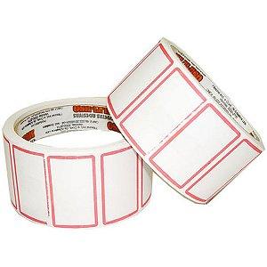 Etiqueta Para Preço 50x30mm C/1320 Etiquetas Fitacrel