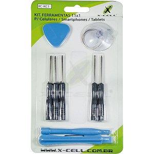 Ferramenta Diversa Kit Chaves Smartphone 11x1 Flex