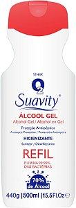 ALCOOL 70 GEL SUAVITY ANTISSPETICO 500ML DI BELLA SP